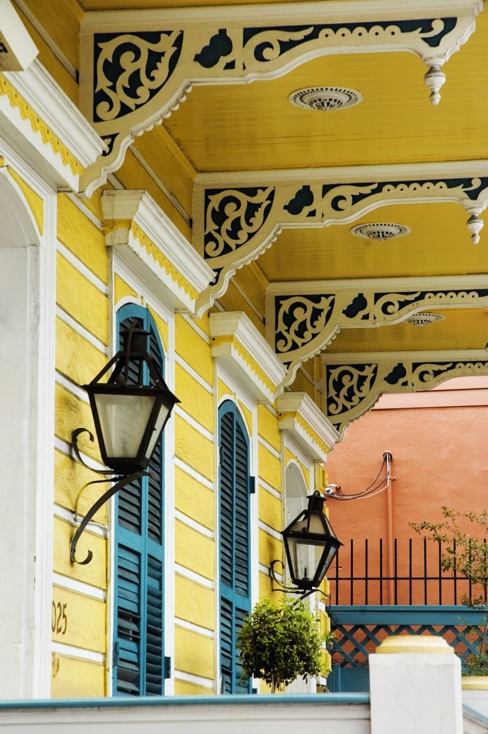 Detalles de arquitectura colonial