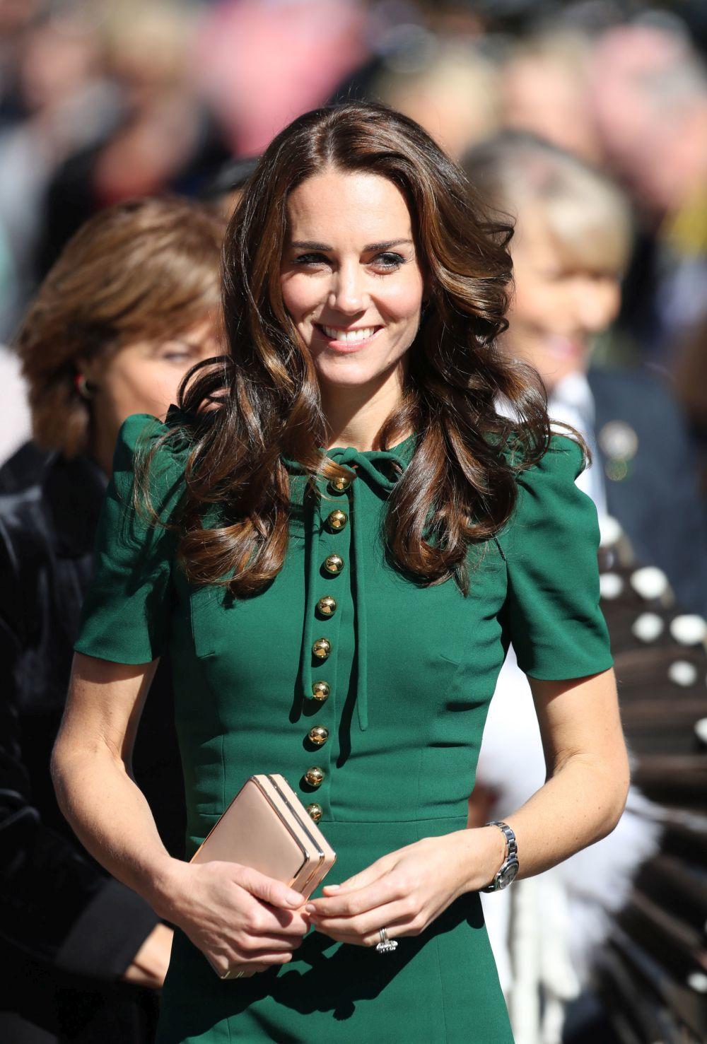 Kate Middleton en su visita oficial a Canadá