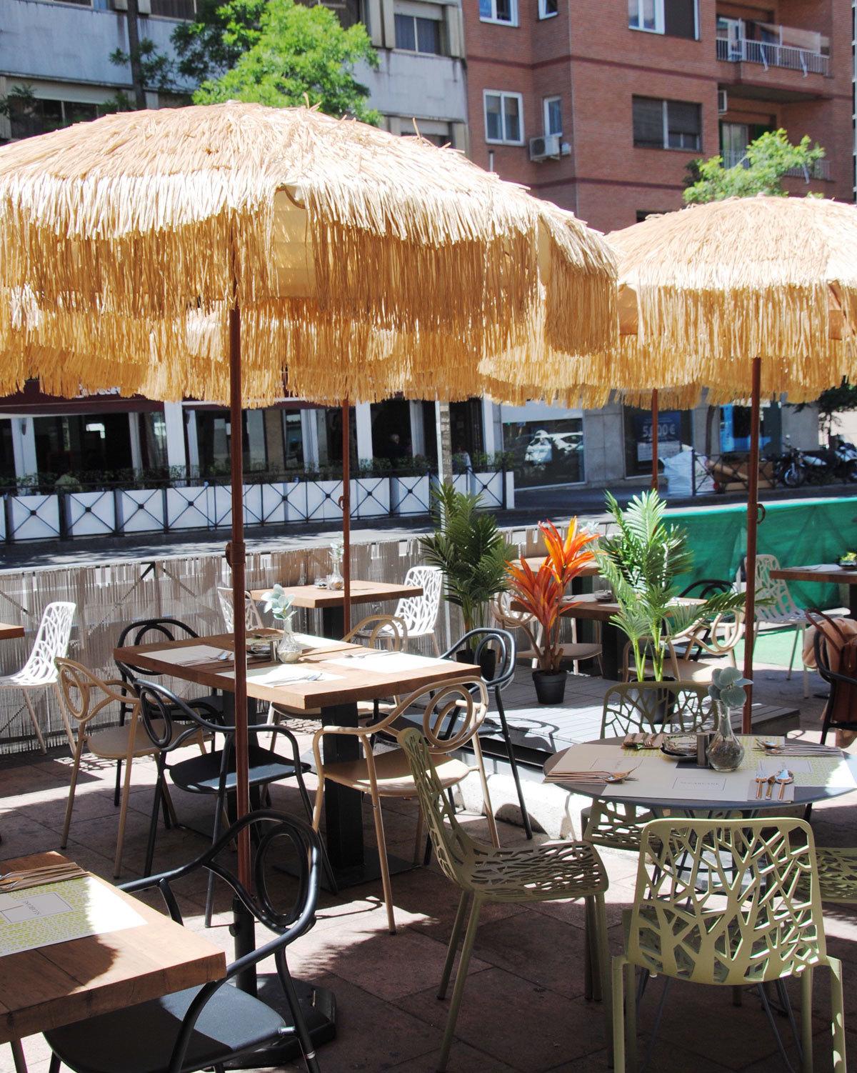 Sugarcane madrid m s de 20 terrazas para disfrutar este for Terrazas de verano madrid