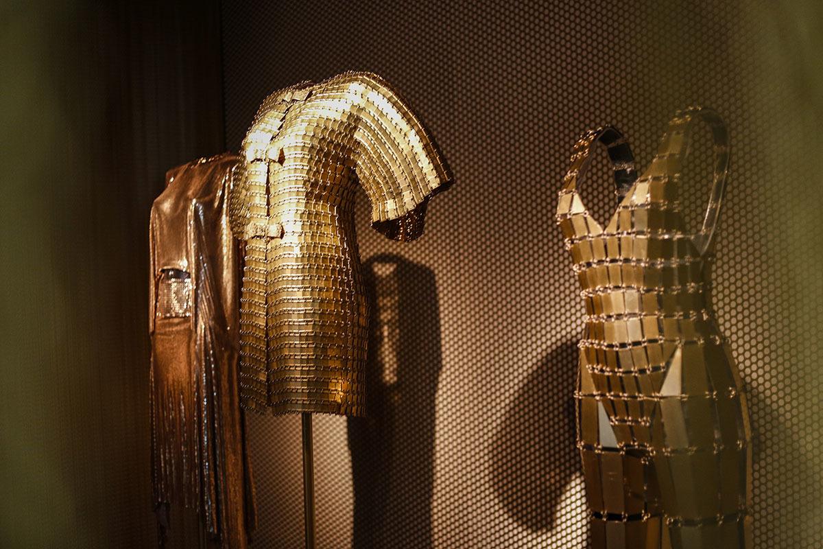 La Golden Room dentro de la exposición TELVA Tributo Paco Rabanne.