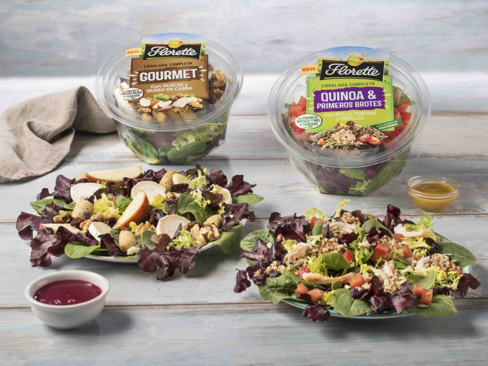 Ensalada de quinoa y gourmet Florette