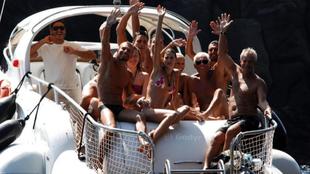 Giorgio Armani y amigos