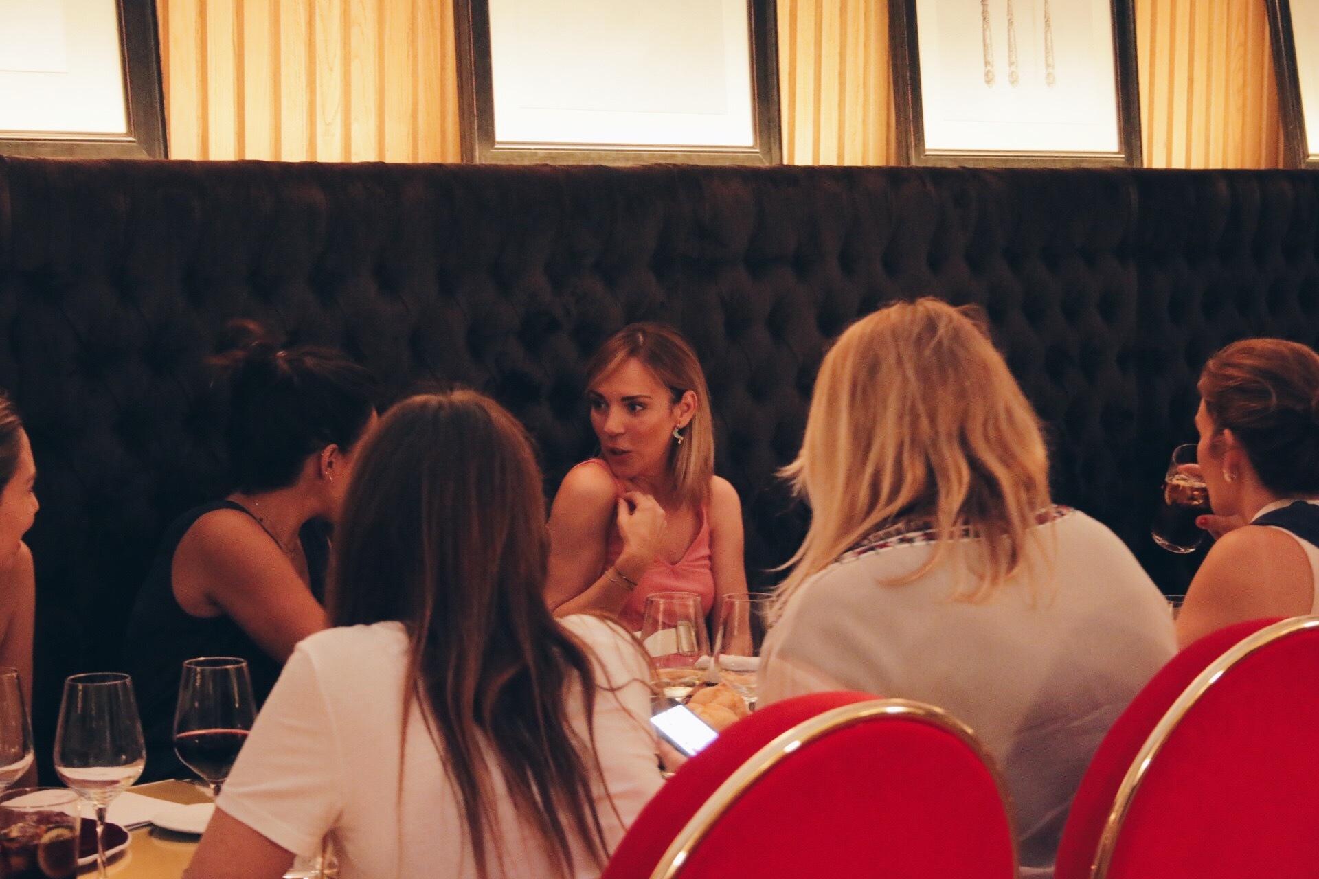 El restaurante Montmatre del Hotel Gran Meliá Palacio de los Duques...