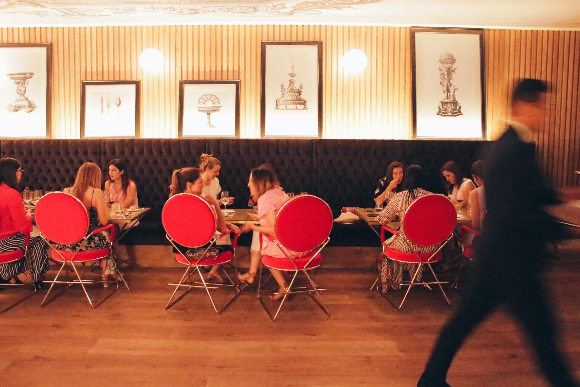 El restaurante Montmatre 1889 del Hotel Gran Meliá Palacio de los...