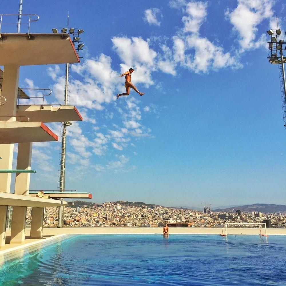 Piscina de montjuic barcelona las mejores piscinas urbanas de - Piscina en barcelona ...