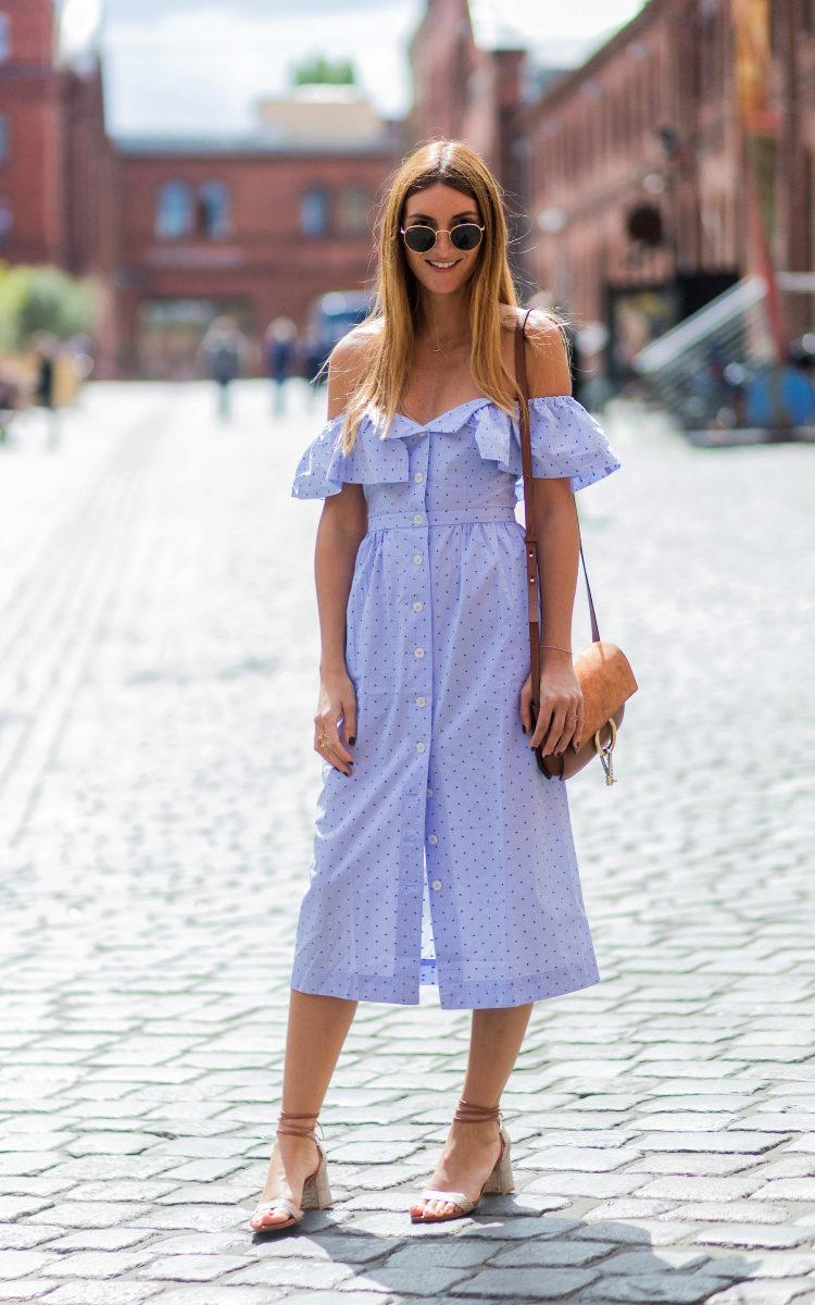El vestido esta temporada se declina jugando con los patrones.