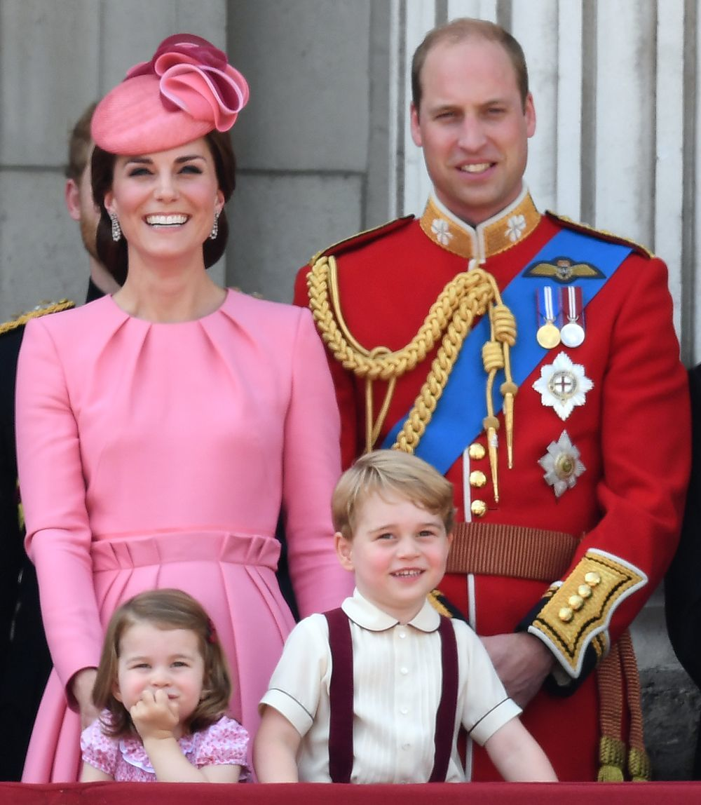 Kate Middleton en el desfile 'Trooping the Colour'