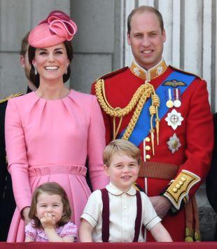 Kate Middleton en el desfile 'Trooping the Colour'