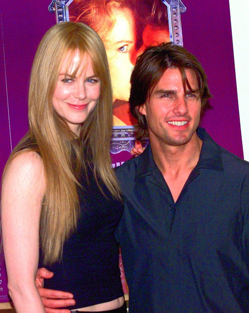 Tom Cruise y Nicole Kidman en 1999