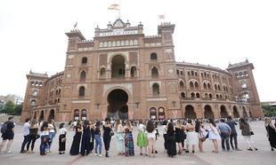 La plaza de toros de Las Ventas acogió la quinta edición del Desfile...