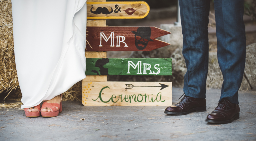 Susana y Gonzalo se casaron en una boda al aire libre con detalles...