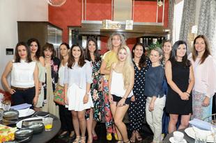 Nos acercamos hasta Casa Decor para desayunar con las blogueras...