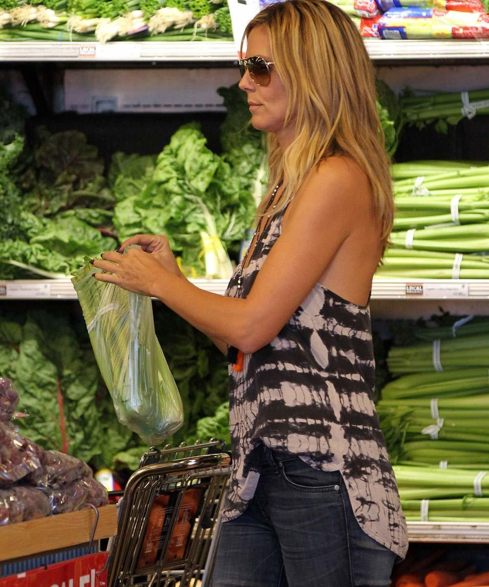 La modelo alemana Heidi Klum cuida mucho su dieta y evita la...