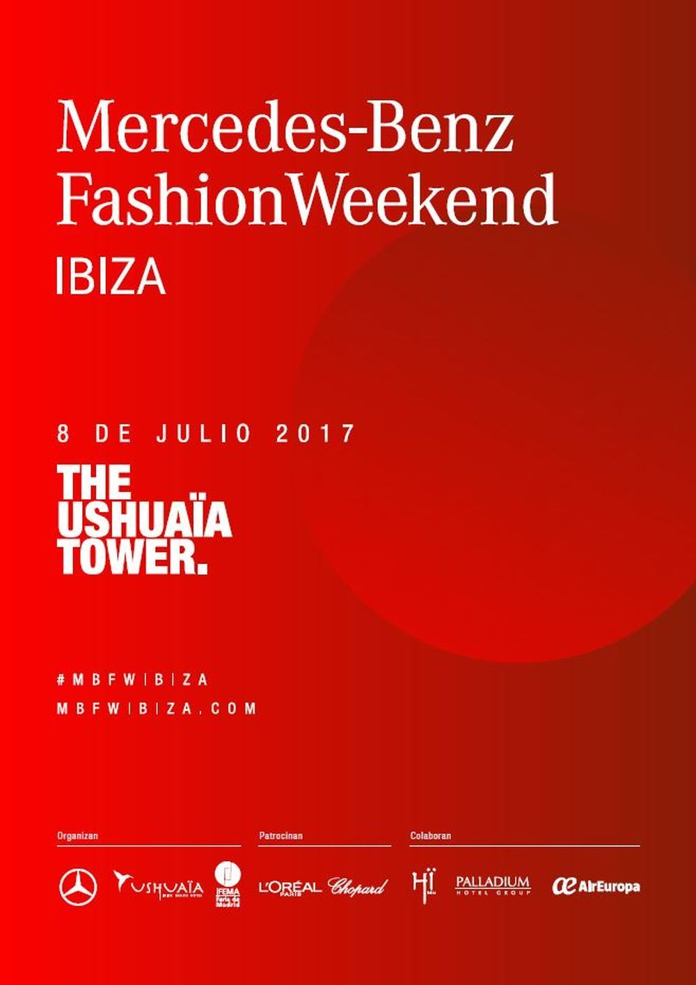 Cartel Mercedes - Benz Fashion Weekend Ibiza