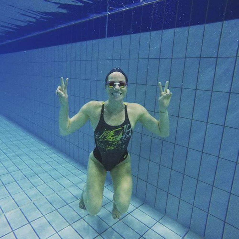 Medalla de plata en natación en los Juegos Olímpicos de Londres,...