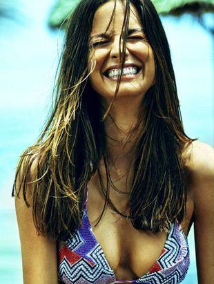 La modelo Ariadne Artiles en una de sus producciones para TELVA.