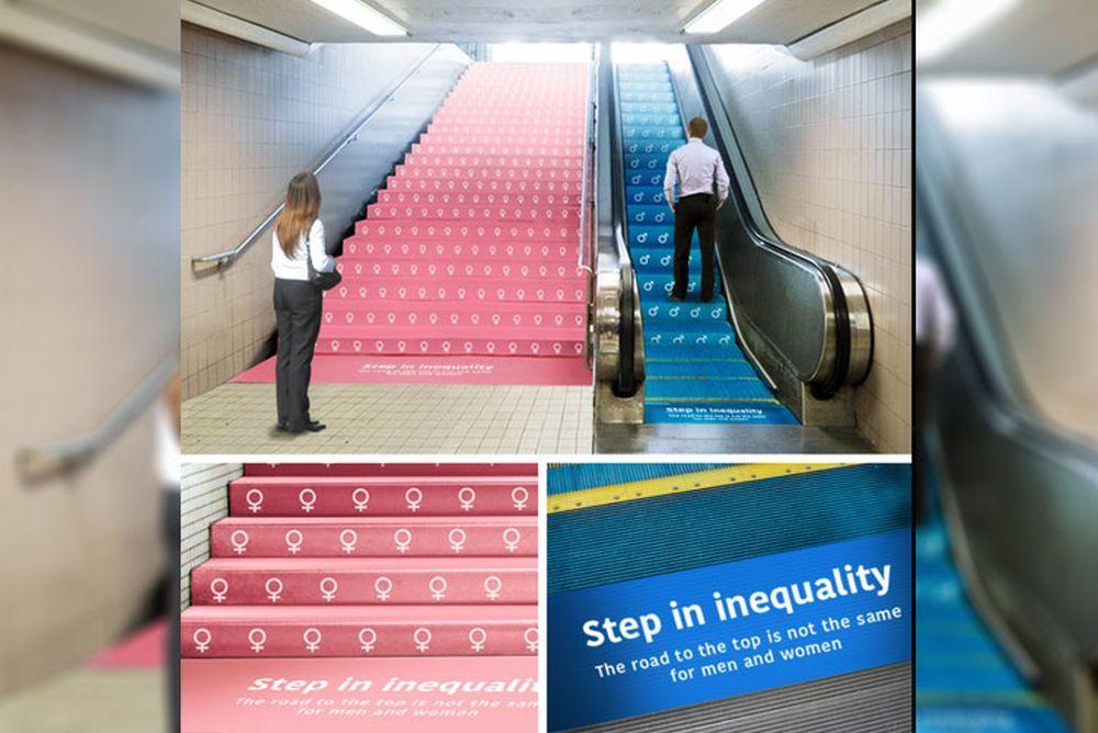 'Paso de la desigualdad' de Kazunori Shiina