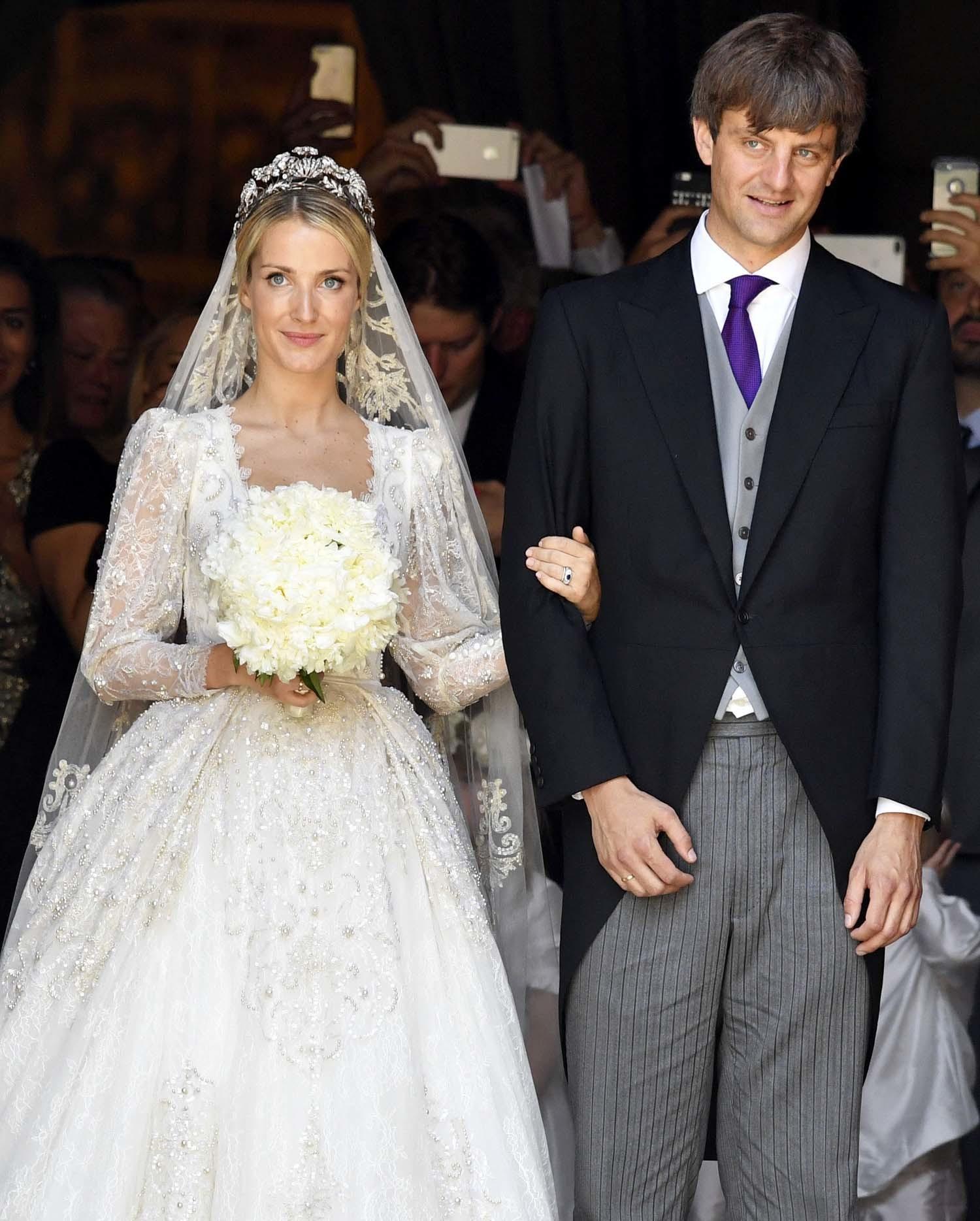 Ekaterina Malysheva lucía un vestido de la diseñadora Sandra...