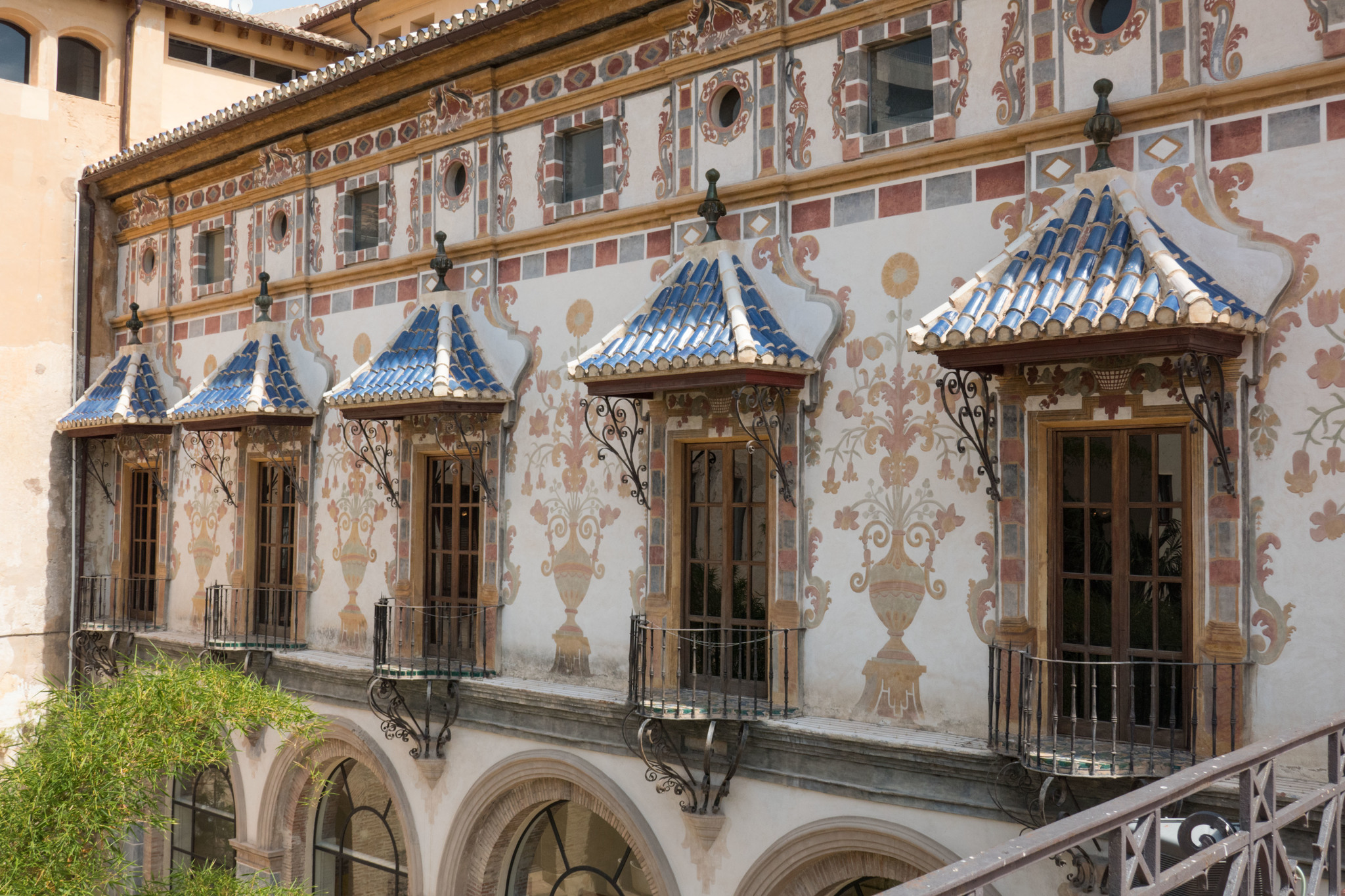 Fachada del Palacio Ducal de Gandía