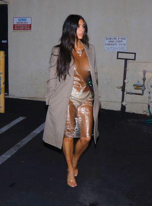 Kim Kardashian se inspira en Kate Moss