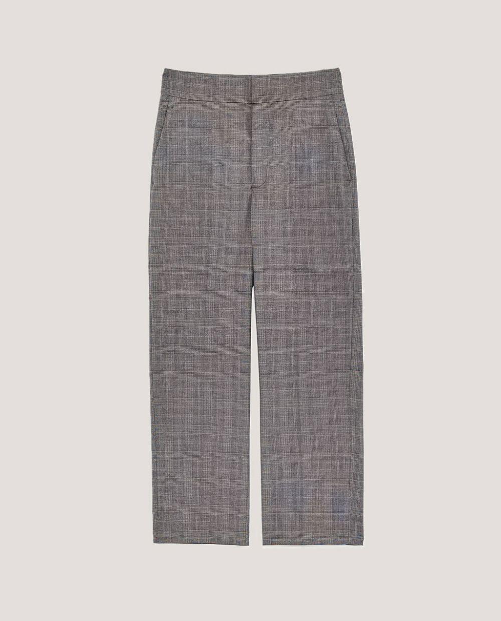 Pantalón sastre por encima del tobillo, Zara (29.99 euros).
