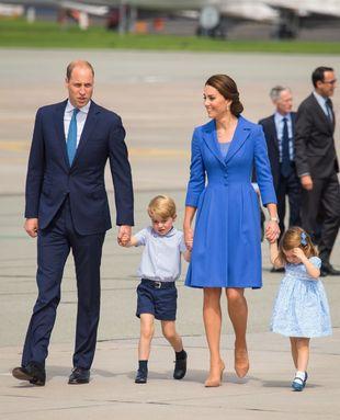 Los Duques de Cambridge están de viaje oficial junto a sus hijos