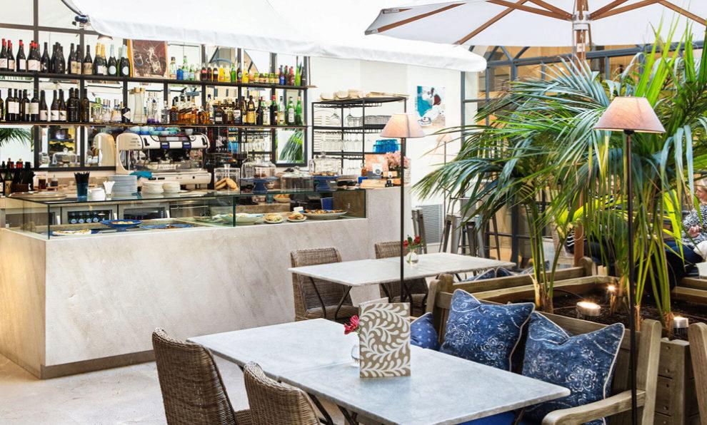 El interior de Rialto Living esconde un restaurante, el Rialto Living...