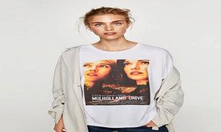 La camiseta de Mulholland Drive de Zara (12,95 euros).