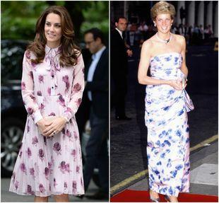 Ambas se atreven con vestidos blancos con estampados florales y...