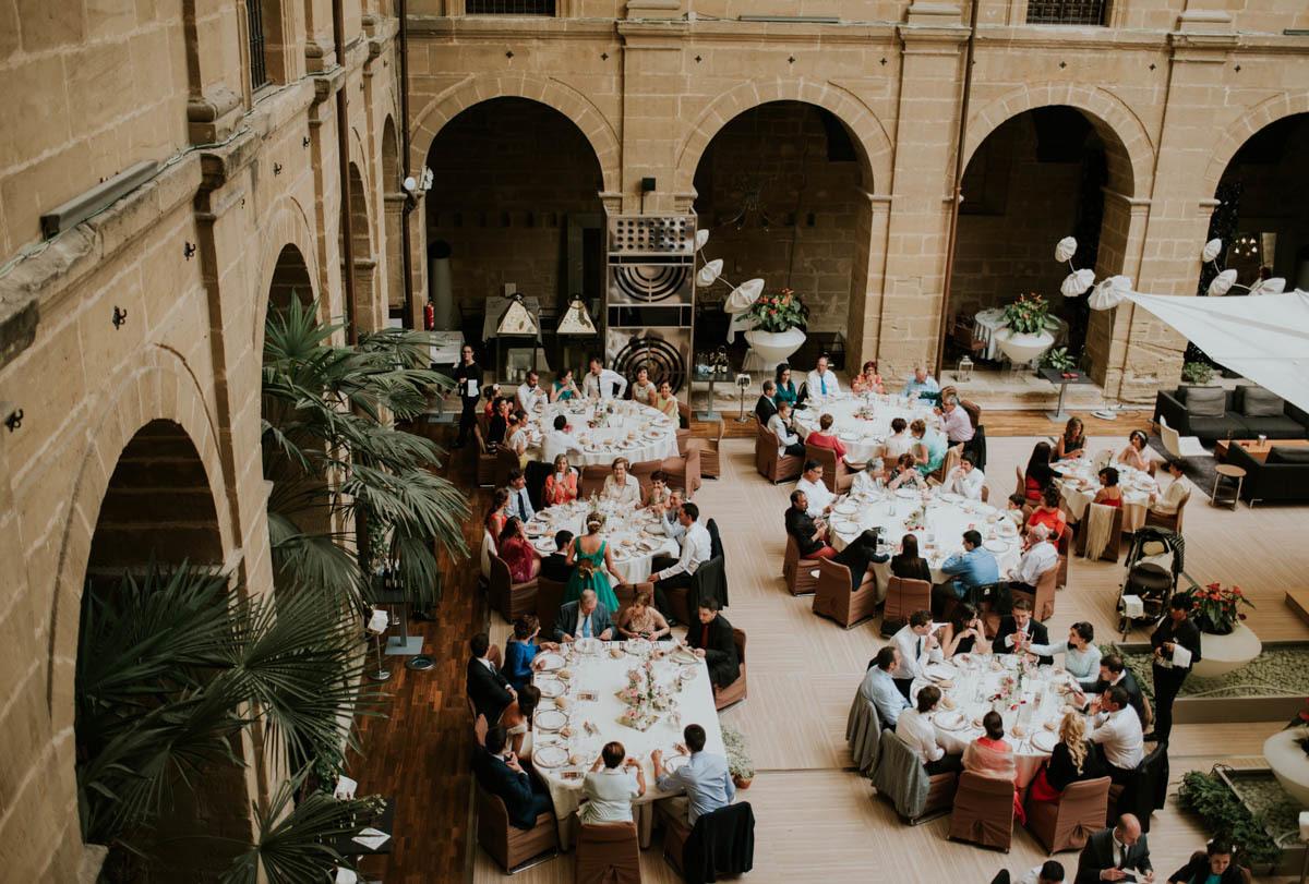 El Hotel Los Agustinos era un antiguo monasterio convertido en hotel...