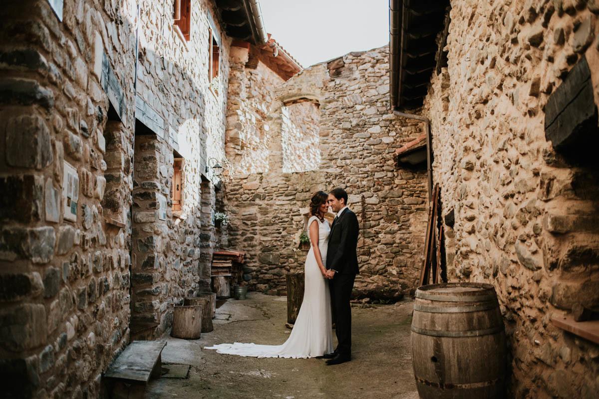 Berta y Antonio se casaron en un antiguo convento reconvertido en...