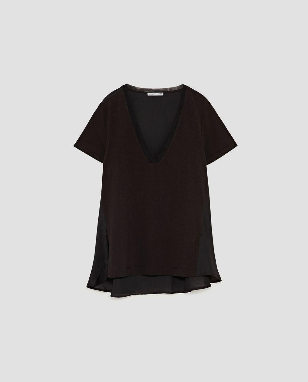 Camiseta Zara (15.95 euros).