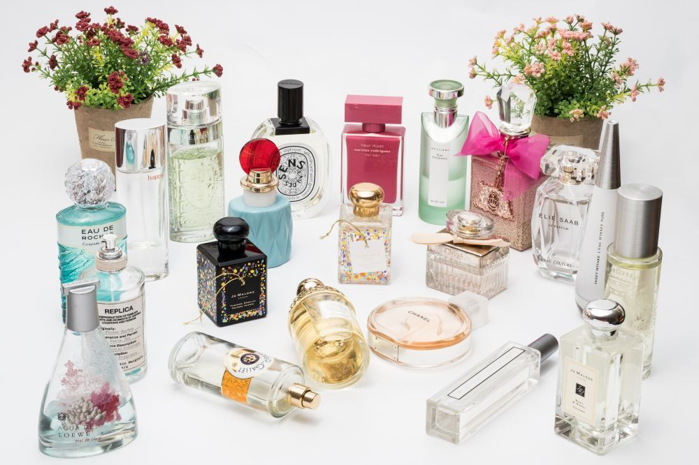 Entre sus perfumes favoritos, a Katia Rocha le gustan los más frescos...