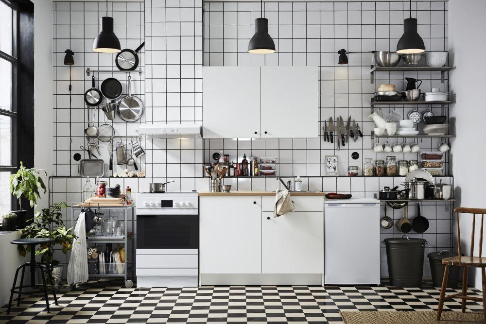 Cocinas vuelven los azulejos cuadrados las tendencias de - Catalogo cocinas ikea 2017 ...