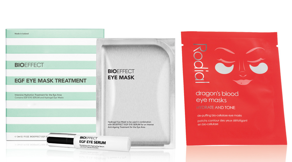 Bioeffect Eye Mask (C.P.V.), mascarilla de hidrogel con parches...