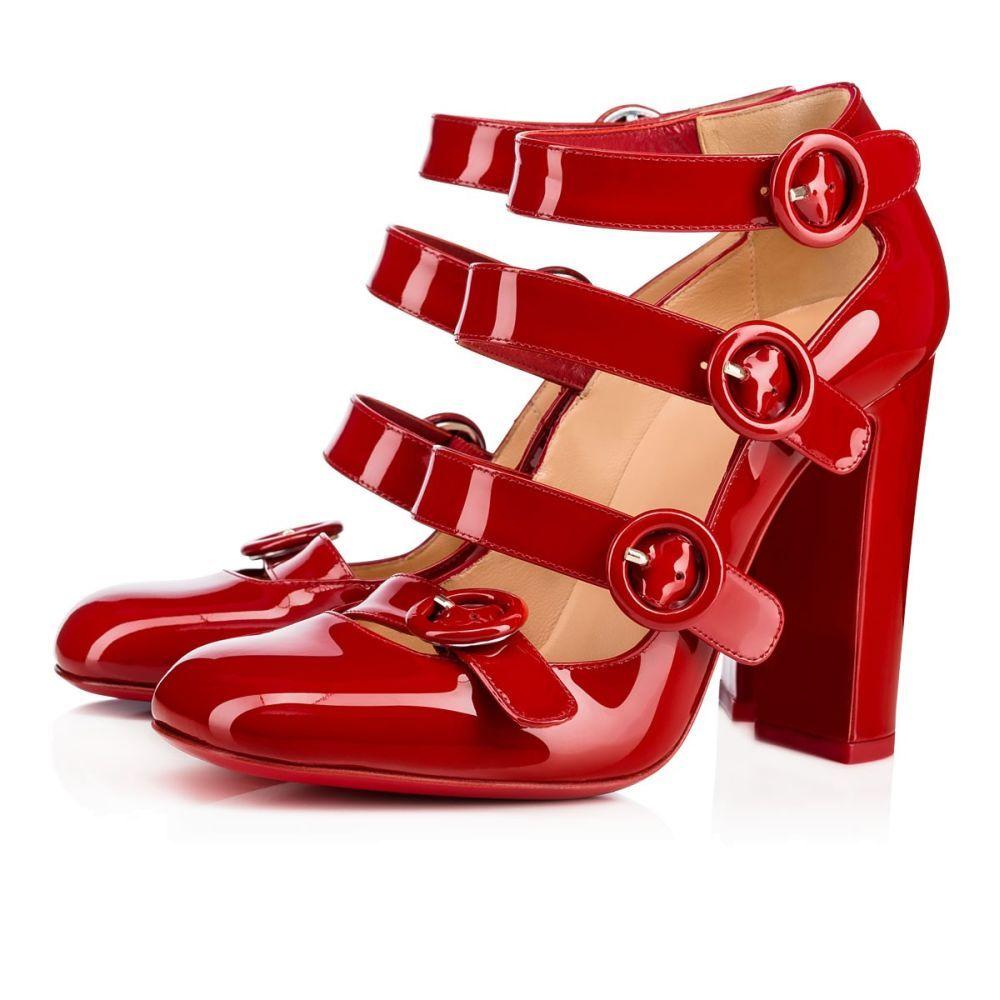 Zapatos de charol Christian Louboutin (c.p.v)