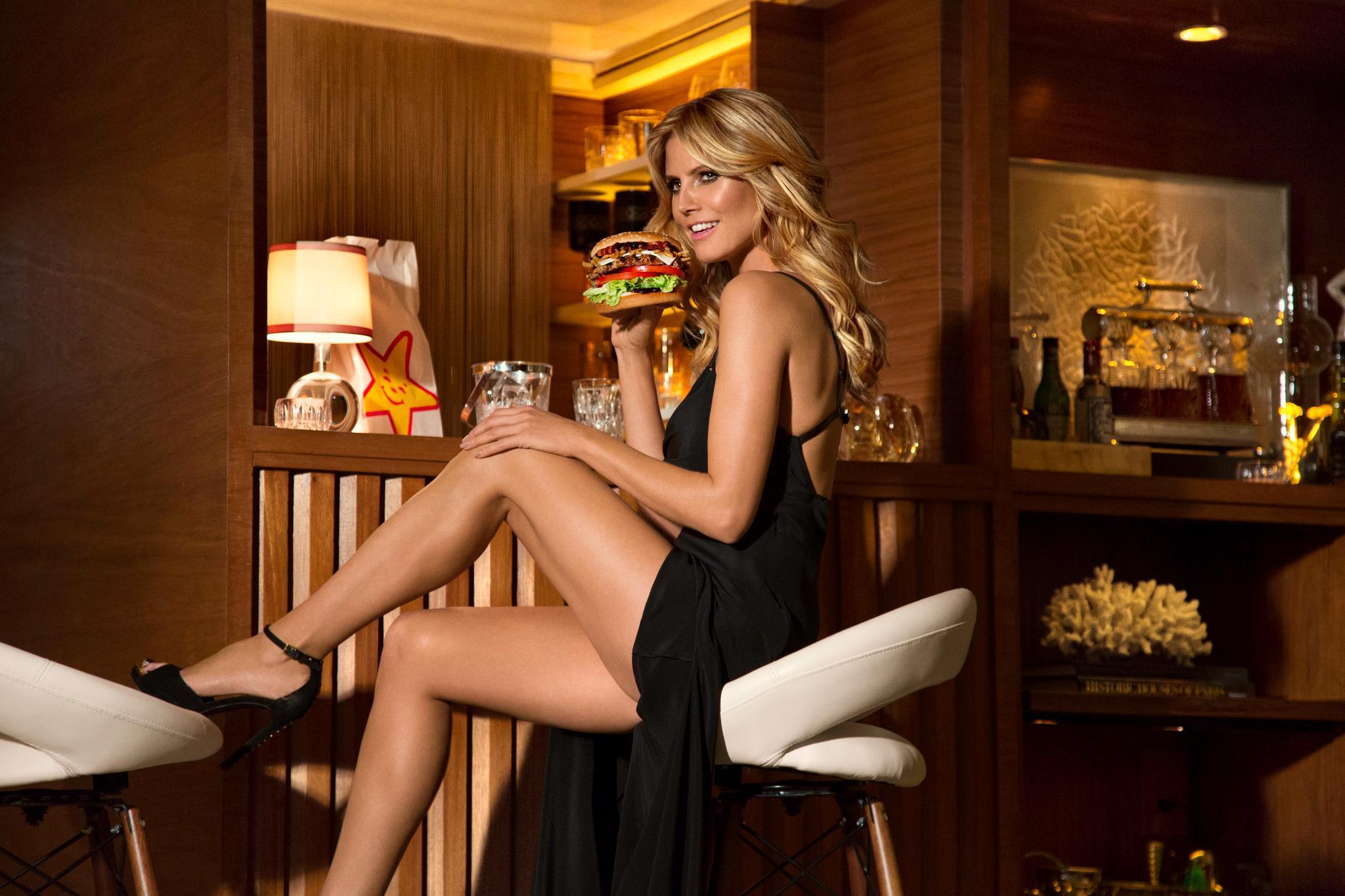 Heidi Klum fue una de las protagonistas de los spots publicitarios de...