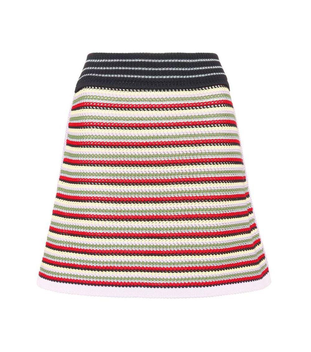 Falda de punto, Alexa Chung (255 euros).