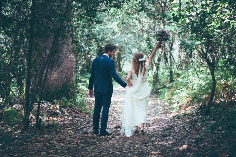 Tanto las fotos como el mágico vídeo de la boda de Alicia y Juan...