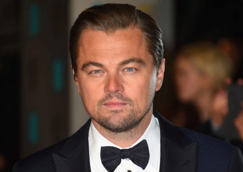 Leonardo Di Caprio en las premios Bafta 2016