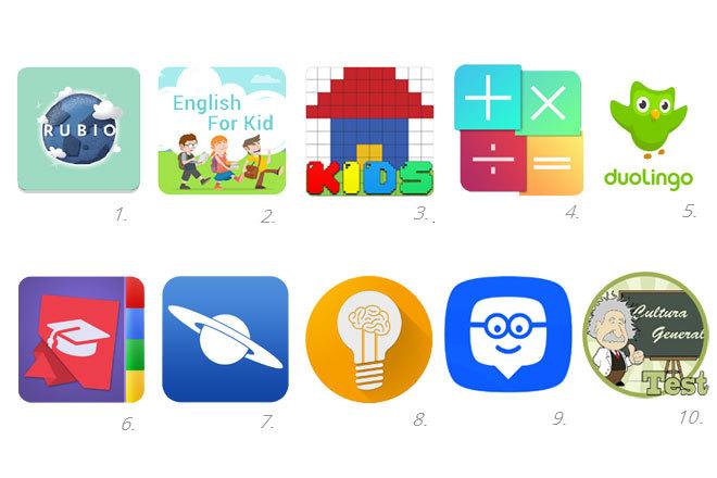 10 aplicaciones que ayudan a tus hijos a estudiar.