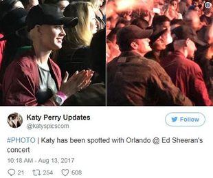 Katy Perry y Orlando Bloom fotografiados juntos el pasado fin de...