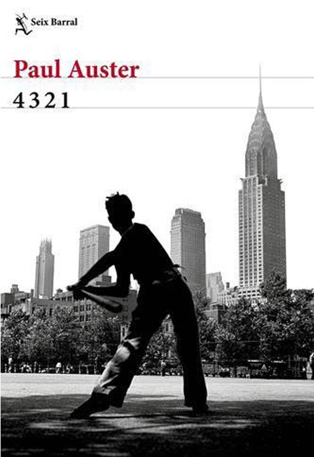 4321, de Paul Auster. Seix Barral.