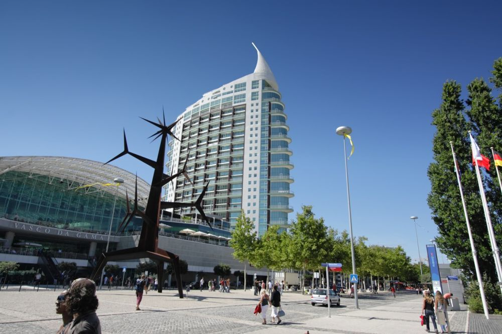 Centro comercial Vasco da Gama, Lisboa