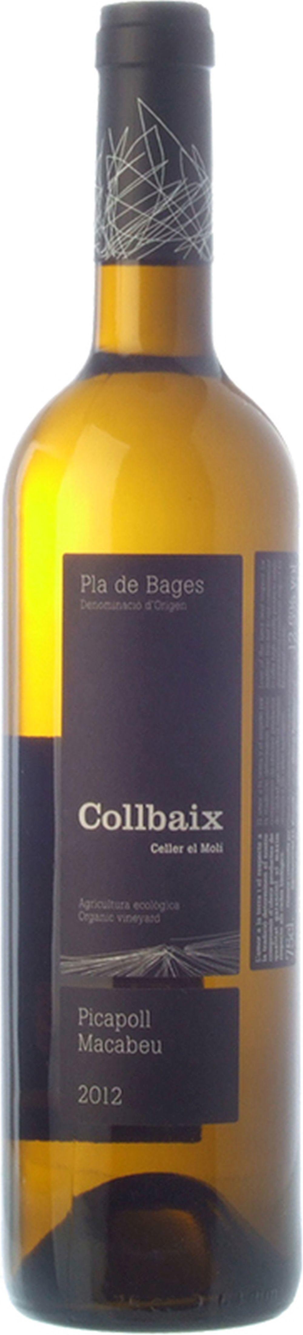 Blanc Picapoll Macabeu de la bodega Collbaix, vino blanco afrutado y...