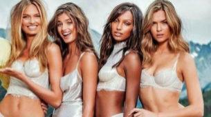 Los ángeles de Victoria's Secret se reúnen en las montañas de Aspen...