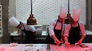 Los hermanos Sandoval abren su nuevo restaurante en la capital
