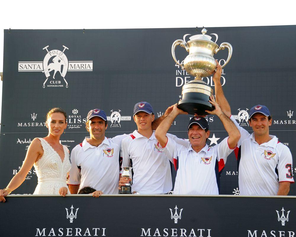 Lechuza Caracas vencedor de la Copa de Plata Maserati