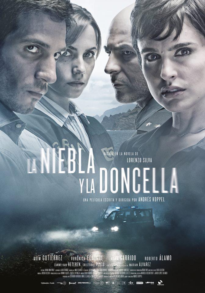 Cartel oficial de la película 'La niebla y la doncella'