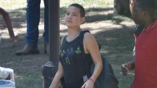 Kate Hudson durante una jornada de rodaje de la película dirigida por...
